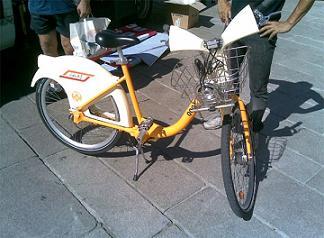 La prima bici