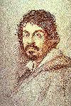 Ritratto del Caravaggio - Ottavio Leoni, 1621