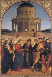 Pinacoteca di Brera - Raffaello:lo sposalizio della Vergine