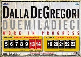 Dalla - De Gregori 2010 Work In Progress Tour
