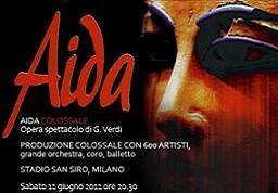 Aida Colossale - Opera Spettacolo di Giuseppe Verdi