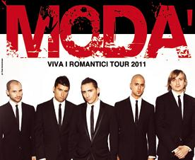 Modà - Viva i Romantici Tour 2011