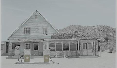 Giovanni Gastel - Cose Viste - Death Valley 2