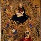 Madonna del Roseto, Michelino da Besozzo o Stefano di Giovanni