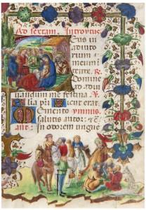 104. Maestro del Libro d'Ore W 323 Baltimora e bottega Maestro Anna Sforza Id 371_1OK