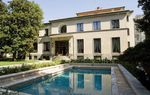 Esterno Villa Necchi Campiglio 2© Giorgio Majno,Fotografo