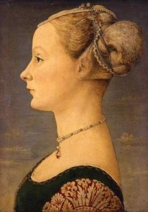 Piero del Pollaiolo, Ritratto di giovane dama (1470-1472)