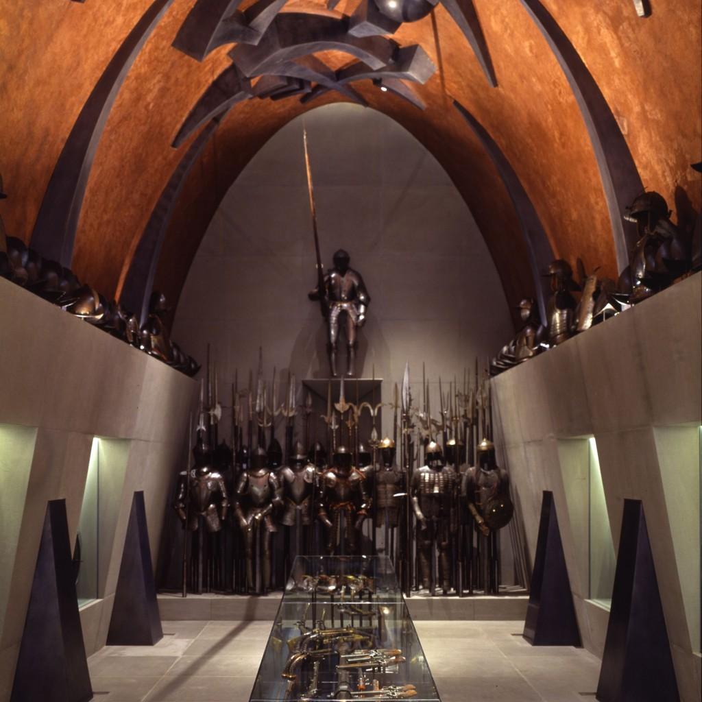 La Sala d'armi nell'allestimento di Arnaldo Pomodoro _ Vaclav Sědy