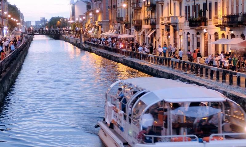Progetto di riapertura dei navigli milanesi