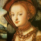 Lucas Cranach, Salome, copyright Museum of Fine Arts Budapest