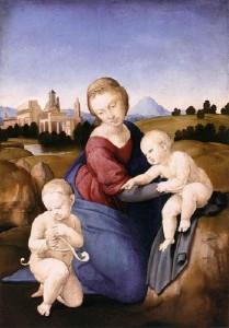 Raffaello, Madonna Esterhazy, copyright Museum of Fine Arts Budapest
