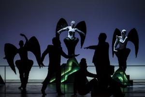 foto di scena ODYSSEY. regia di Bob Wilson. Piccolo Teatro di Milano. 2 aprile 2013. Foto © Masiar Pasquali