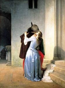 Francesco Hayez, Il bacio, 1867