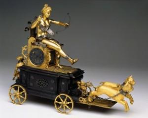 Automa-orologio Carro di Diana, 1610 © Poldi Pezzoli