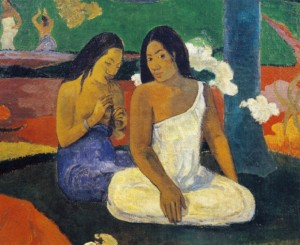 "Arearea, noto come ""Giocosità"", 1892, Paul Gauguin (1848-1903) (©Photo by DeAgostini/Getty Images)"