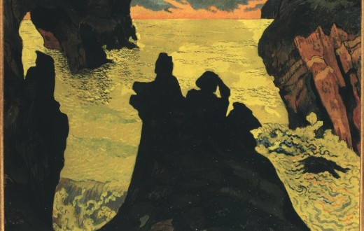 Georges Lacombe. Il mare giallo, Camaret, 1892 circa