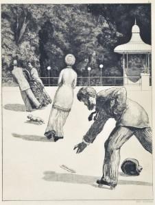 Max Klinger, Azione dalla serie Il guanto (1881)