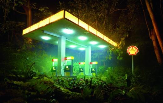 Gas Shell, ©David LaChapelle 2012