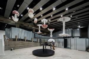 "Carsten Höller ""Decision"" veduta dell'installazione Hayward Gallery Southbank Centre Londra. Elzbieta Bialkowska 2015"