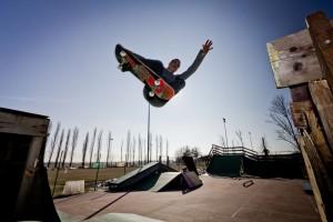 Ramp skateboard