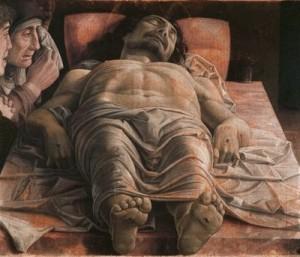 Andrea Mantegna, Cristo morto (1475-1478 ca)