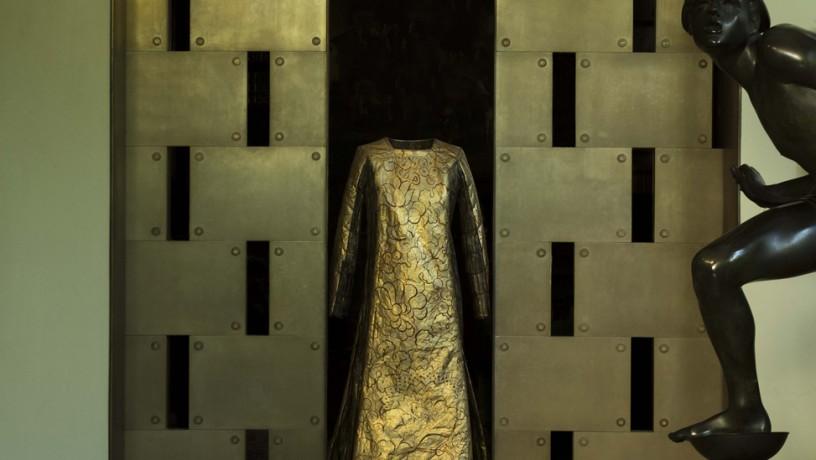 Isabelle de Borchgrave, Abito 'Delphos' di M. Fortuny  Foto di Guido Taroni © FAI