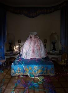 Isabelle de Borchgrave, Abito di corte di Maria Antonietta. Foto di Guido Taroni © FAI