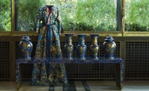 Isabelle de Borchgrave, Abito da camera di Albertine. Foto di Guido Taroni © FAI
