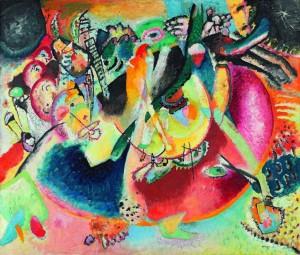 Vasilij Kandinskij, Improvvisazione sulle forme fredde, 1914. Mosca, Galleria-Tret'jakov © State Tretyakov Gallery