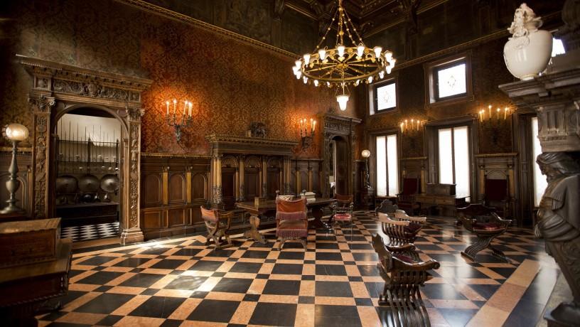 Museo Bagatti Valsecchi, il Salone d'onore. Photo credits © R. Longoni